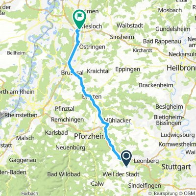 Malmsheim - Walldorf (Hochholz)