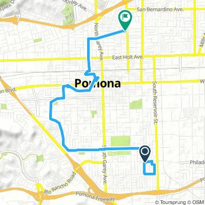 ride around Pomona