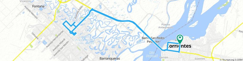 Corrientes, Resistencia ida y vuelta