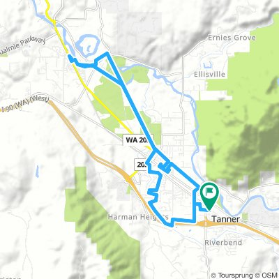 Thither to Snoqualmie