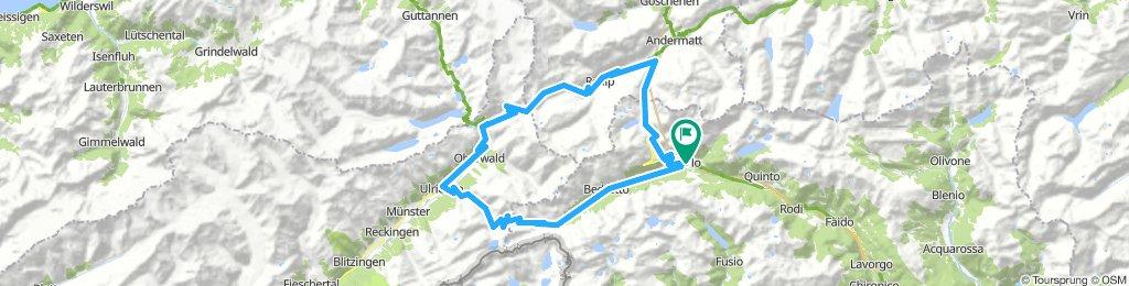 Gotthard - Furka - Nufenen