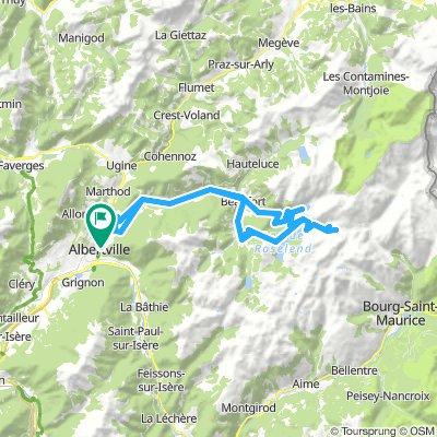 2018-06-16 / Col de Montessuit + Col du Pré + Cormet de Roselend + Lac de la Gittaz