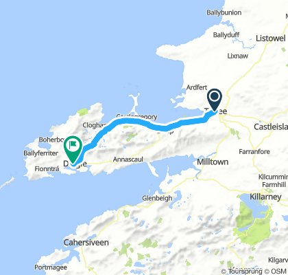 Tralee - Dingle (Connor Pass )