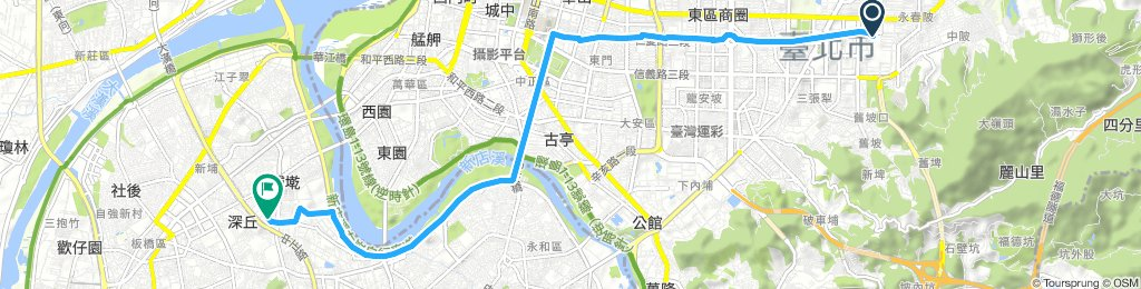 Long 星期一 Track In 台北市