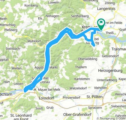 Krems - Melk - Gottweig - Krems