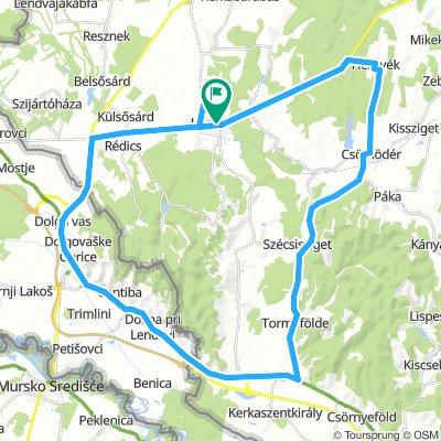 15. Háromországos Pannon Maraton, Lenti 55