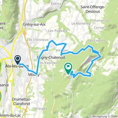 Mont Revard 1537 m