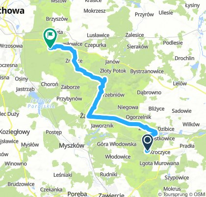 Dzień 4 Podlesice - Olsztyn
