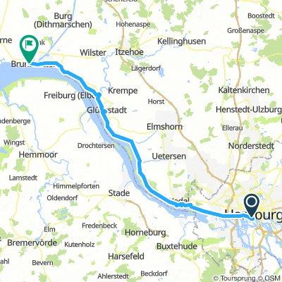 Hamburg Brunsbüttel Tag 1
