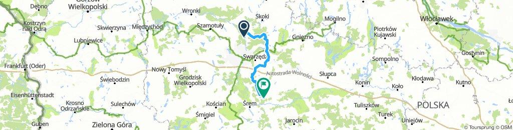 Rajd rowerowy Pierścień Poznania dzień 1