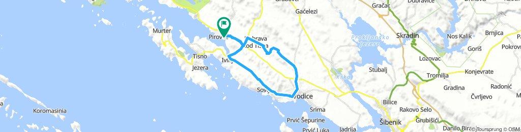 Pirovac-Okit-Tribunj-Pirovac