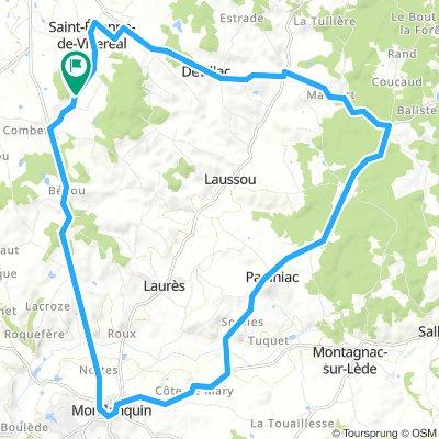 Route Les Ormes Short