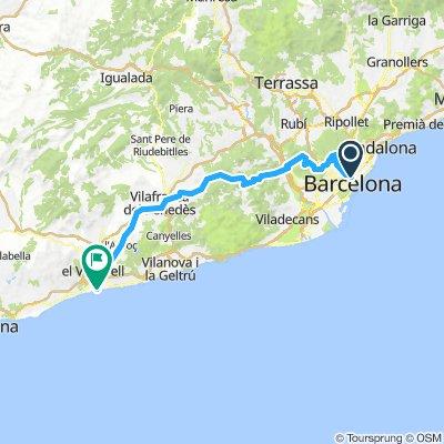 20180724 Barcelona-Tibidabo-Ordal-Sant Salvador