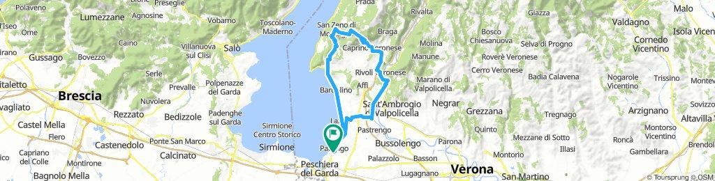 Pacengo - Etschtal - Lumini - San Zeno - Garda - Pacengo