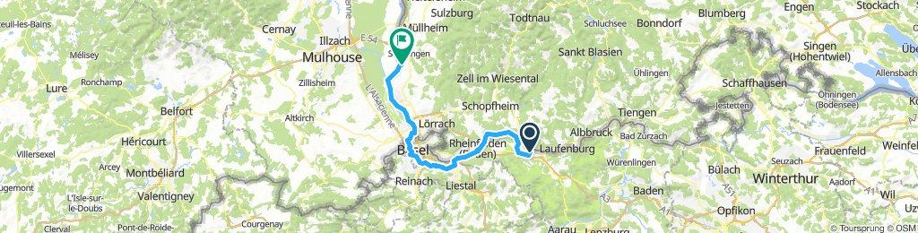 Schwarzwaldradweg Ettape 3 Bad Bellingen