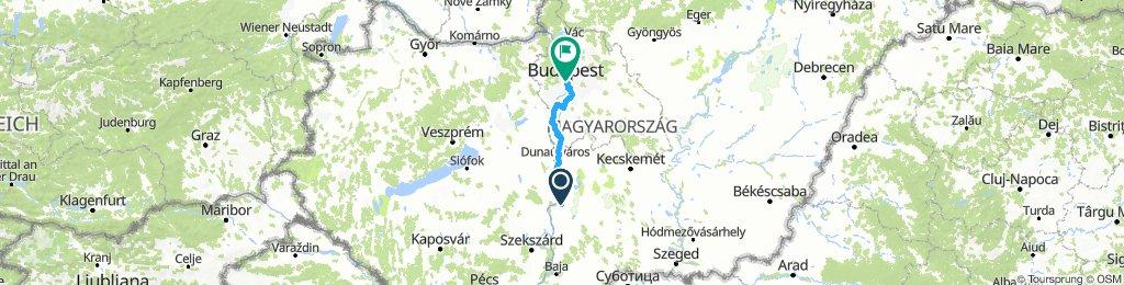 Paks to Budapest