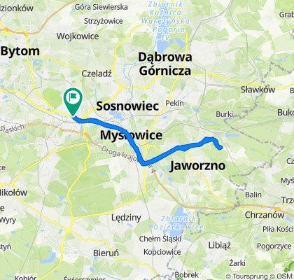 🚴🏼♂️ Katowice ➡️ Jaworzno, Park Gródek