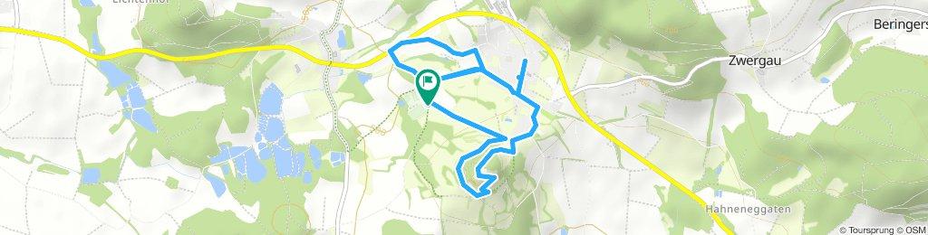 Wanderung um den Schlossberg am 12.08.