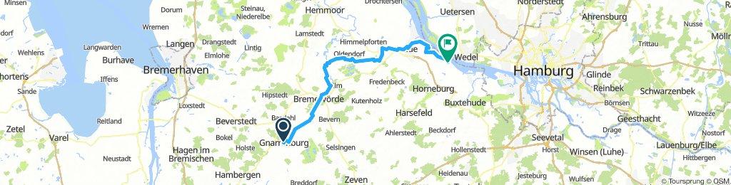 3 Gnarrenburg - Grünendeich