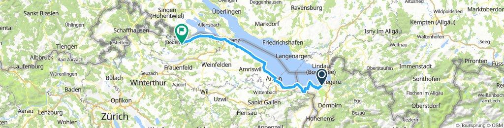 4. Etappe Bodensee Rundfahrt