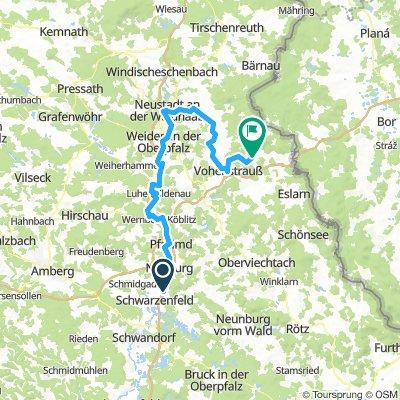 Oberpfälzer-Wald-Runde Teil1