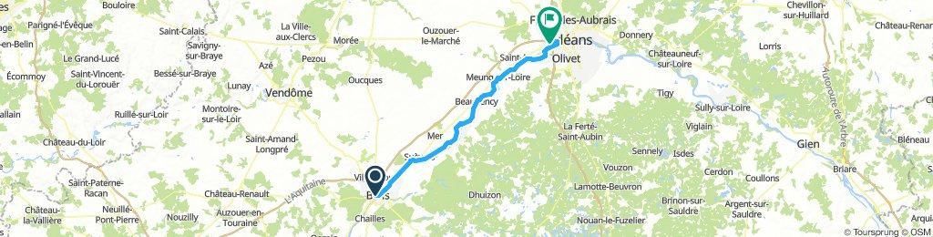 Tag 7 Blois - Orléans