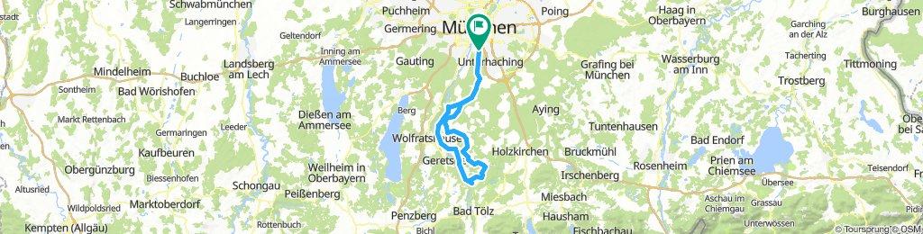 Perlacher Forst - Ludwigshöhe - Dietramszell - Pupplinger Au