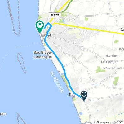Short Torsdag Route In Plassac