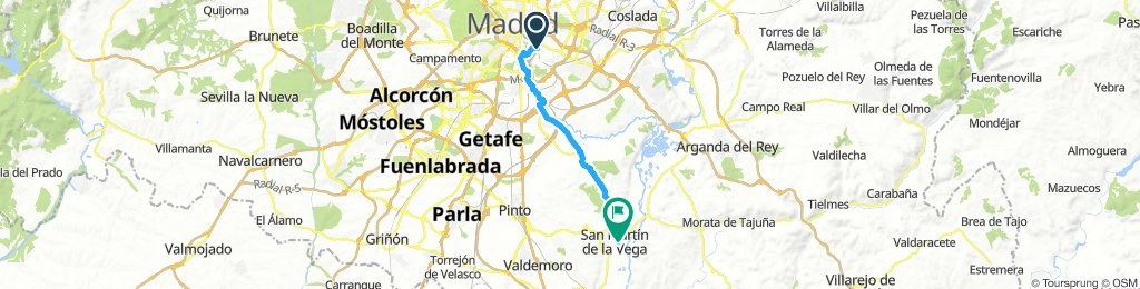 Ruta San Martín de la Vega