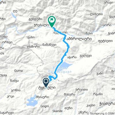 First Route_bakuriani-Racha-Lechkhumi_day 4