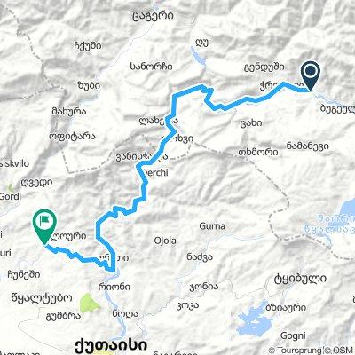 First Route_bakuriani-Racha-Lechkhumi_day 5