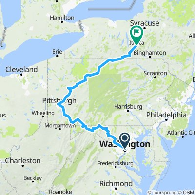 Official 2018 Trip Map