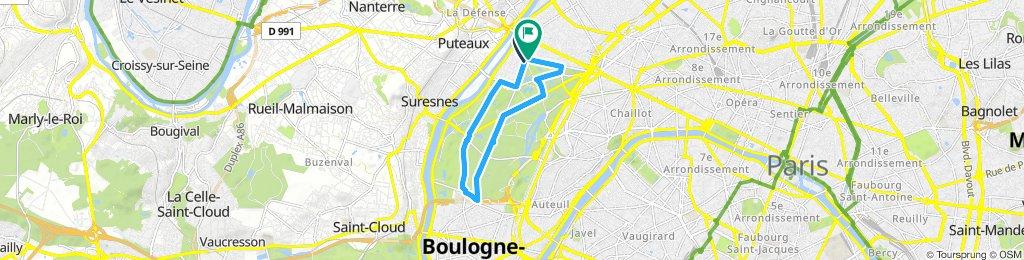 TRENING KRUG PARIS BULOGNE