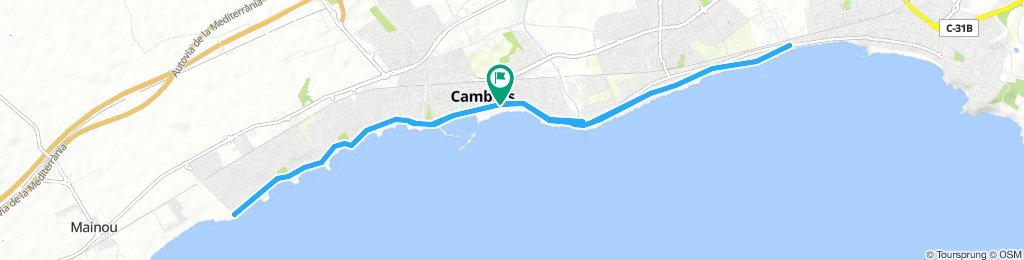 Cambrils - Villafortuny - Cambrils