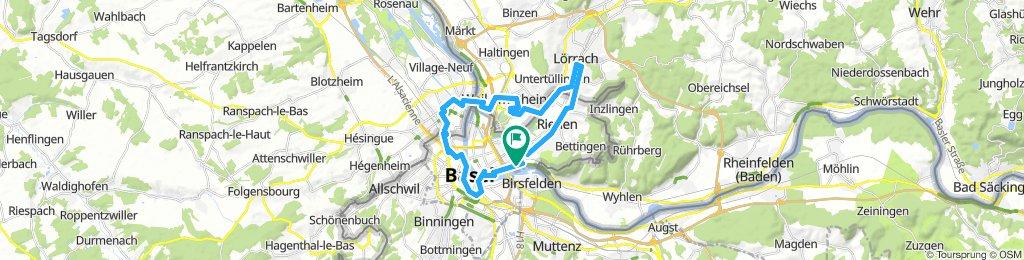 slowUp Basel-Dreiland, Schlaufe West