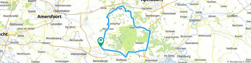 Ede = Kootwijk - Woeste Hoeve - Terlet - Schaarsbergen = Ede