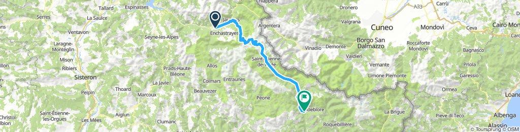 Etappe 6 Rimplas Col de Bonette