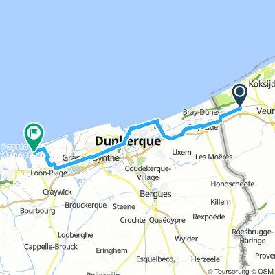 00 Station De Panne - veerhaven Duinkerke