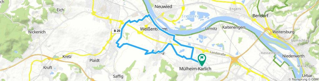 GPX Download: S0 Downhill – Idylle Runde von Mülheim-Kärlich
