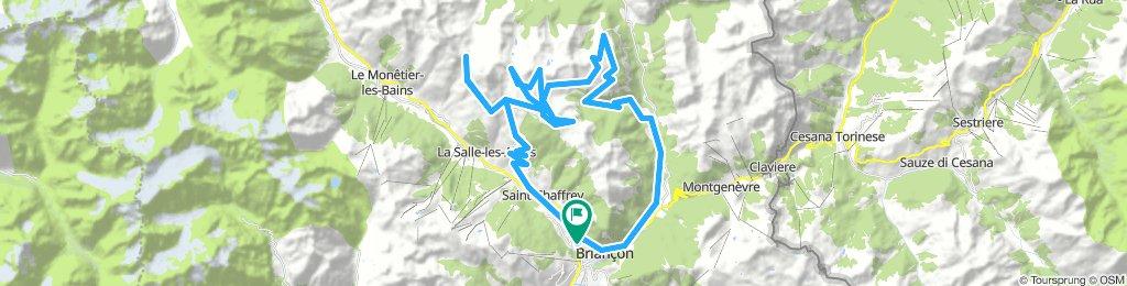 Col du Granon, Five Gravel Cols, Two Perched Forts