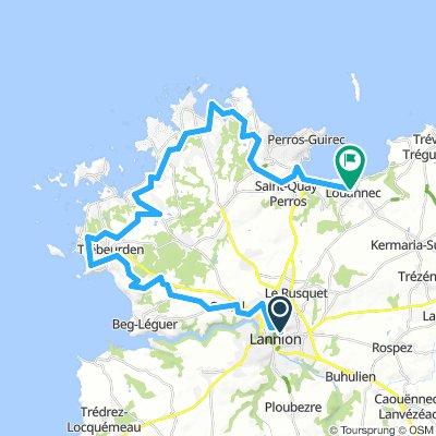 F02a alternatief via Tour de Manche