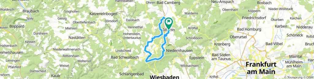 Idstein-Platte via Orlen+TS
