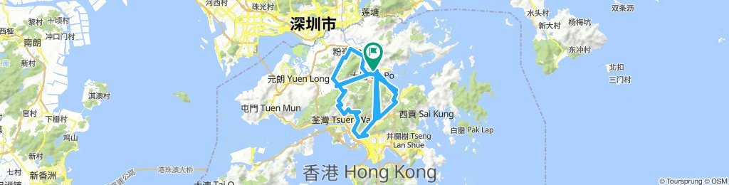 Moderate 星期六 Route In23/7/18