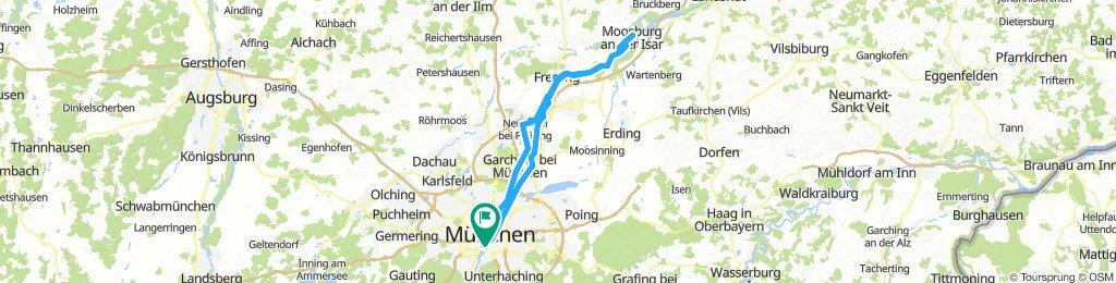 Giesing-Moosburg-Retour