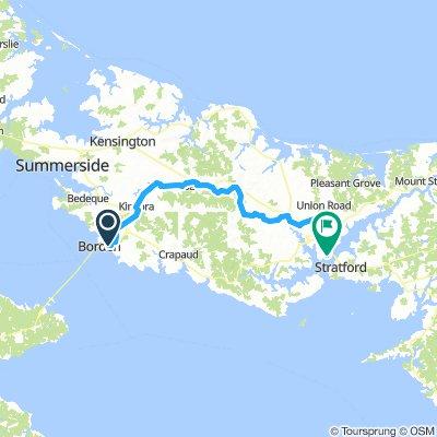 10of12 PEI - 02a Borden-Charleton, PE to Charlottetown, PE via Confederation Trail (HI Charlottetown Backpackers Inn) 67km