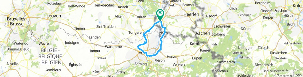 2018-07-29 Maastricht - Luik - Visé - Eijsden - Gronsveld - Maastricht