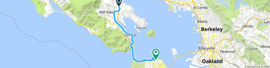 Corte Madera to San Francisco