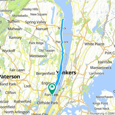 Map Of Route 684 In New York.New York State Bike Route 9 Beginning To End Bikemap Your Bike