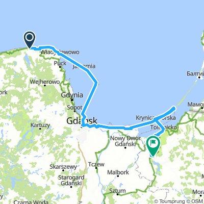 Wybrzeżem Bałtyku D3