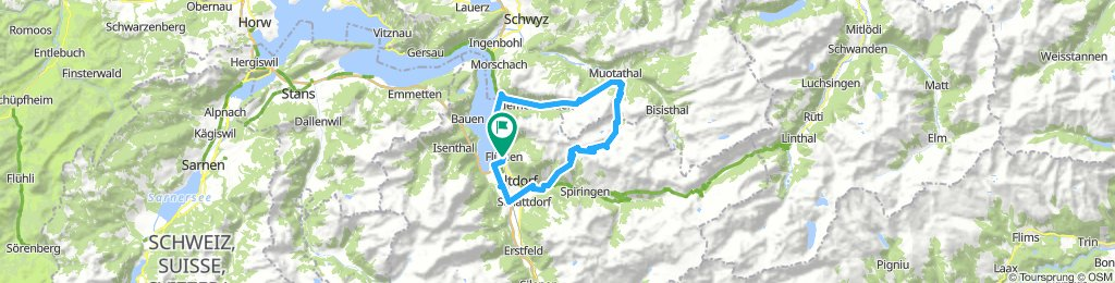 Tour Chinzig Chulm / Goldplangg